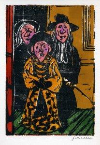 Drei in der Tür