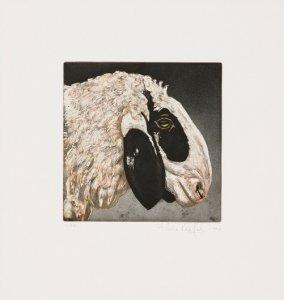 Tierköpfe - Schaf