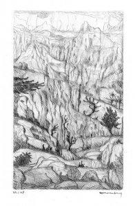 Berglandschaft - Karpathos