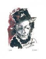 Marlene Dietrich sign num.
