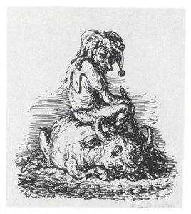 Der Kasper und sein Ochse