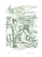 Kokoschka Wingler-Welz 299 odyssee 5. gesang vers 145-170