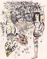Spiel der Akrobaten Chagall 401 (2)