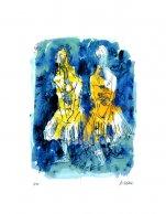 Tänzerinnen - nach Degas