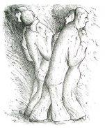 Zwei tanzende Paare